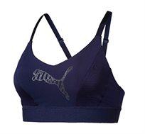 חזיית ספורט דגם L51699510 לנשים - כחול