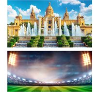 3 לילות בברצלונה כולל כרטיס למשחק ברצלונה מול ויאריאל רק בכ-€656*