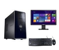 """תחנת עבודה מושלמת מבית Dell דגם I660 זיכרון 4Gb דיסק 500Gb מעבד Pentium G2020 כולל מסך 22"""" Dell וסט מקלדת ועכבר מתנה"""