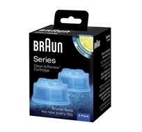 נוזל ניקוי למכונות גילוח Braun CCR2 - זוג במארז - משלוח חינם
