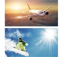 """חבילת סקי בצרפת, כולל טיסות, אירוח ע""""ב א.בוקר ו-6 ימי סקי פס החל מכ-ž€977*"""