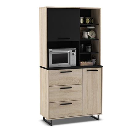 ארון שירות למטבח עם תא למיקרוגל דגם INDY
