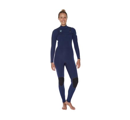 חליפת גלישה לנשים TOPAZ 3/2 mm במגוון מידות BODY GLOVE
