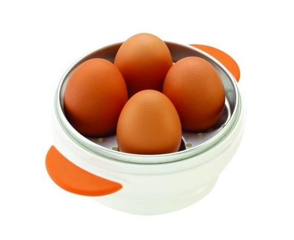 איך מבשלים ביצה מושלמת? בקלות! כלי להכנת ביצים קשות במיקרוגל תוך 5 דקות, אפשרות למספר מידות עשייה - תמונה 2