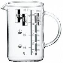 כד מידה 1 ליטר מזכוכית