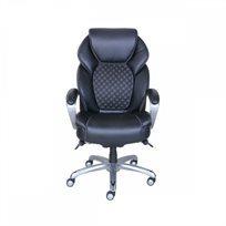 כיסא מנהל/ת דמוי עור La-Z-Boy Executive שחור