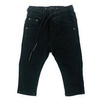 ג'ינס Oro לילדים (מידות 12 חודשים-16 שנים) - שחור גומי