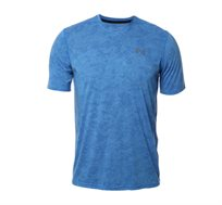 טי שרט לגברים Under Armour SS18 UA THREADBORNE PRINTED VN בצבע תכלת