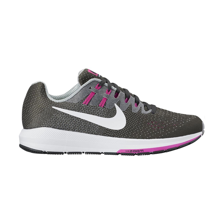 נעלי ריצה מקצועיות לאישה NIKE דגם 849577-006 STRUCTURE 20 - אפור כהה
