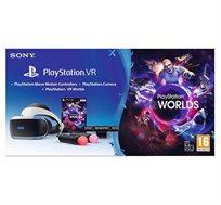 מציאות מדומה VR לקונסולה Playstation 4+ מצלמה + זוג בקרי מוב + משחק VR WORLD