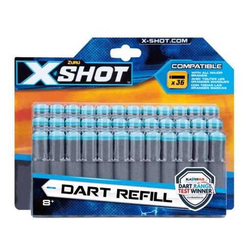 36 חיצים מקוריים לx Shot