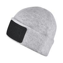 כובע//  Beanie B Medium Grey