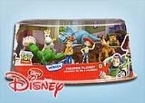 סט 8 צעצועים מתוקים מהסרט ''צעצוע של סיפור 3'' הישר מבית דיסני. כולל את וודי, ג'סי, רקס הדינוזאור ועוד!