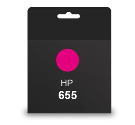 ראש דיו מקורי HP 655 אדום