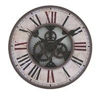 שעון קיר עץ קאנטרי קטן