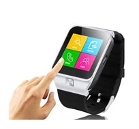שעון יד חכם עם טלפון סלולרי GSM SIM, מצלמה צבעונית ועברית מלאה, שיחות ישירות, נגן MP4
