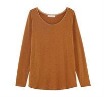 חולצת בייסיק לנשים עם שרוולים ארוכים במגוון צבעים לבחירה