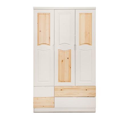 ארון 3 דלתות מעץ מלא דגם עומרי