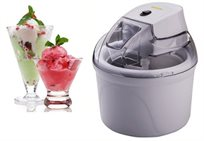 מכשיר ביתי להכנת גלידה פרוזן יוגורט וסורבה עם קערה גדולה במיוחד 1.5 ליטר מבית GOLD LINE דגם ATL-85