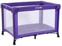 לול קמפינג / מיטה ניידת SIMPLY לתינוק עם כילה בסגול - דגם חדש!