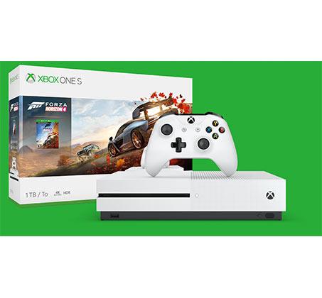 קונסולה  Microsoft Xbox One S נפח 1TB+משחק Forza Horizon 4  וחבילת מייסדים Apex Legends יבואן רשמי  - משלוח חינם - תמונה 4