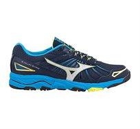 נעלי ריצה לגבר MIZUNO WAVE MUJIN 3 דגם J1GC167005 בצבע כחול/כסף/צהוב