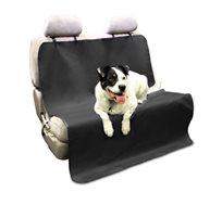 כיסוי מושב אחורי לרכב להסעת כלבים ולשמירה על הניקיון מבד מונע החלקה וקל להתקנה