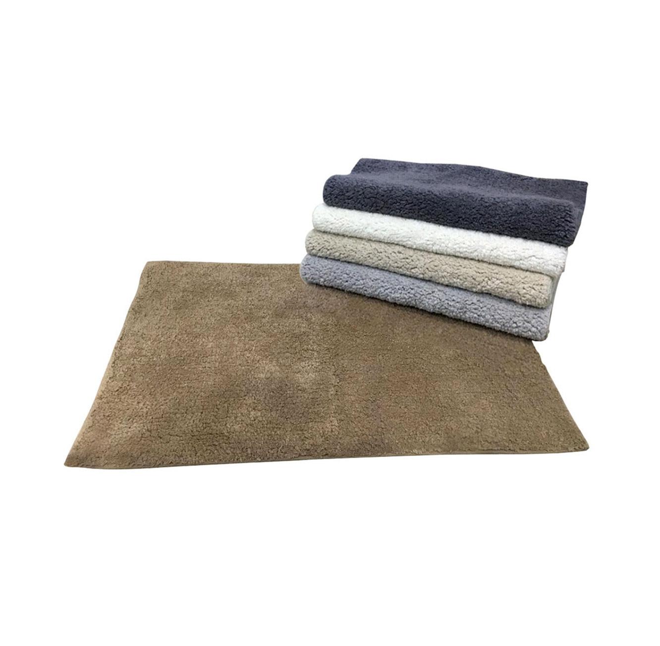 שטיח אמבט מור 100% כותנה נגד החלקה