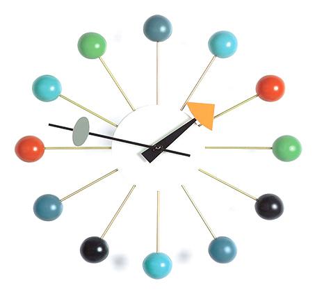 שעור לקיר BALL CLOCK בעיצוב חדשני