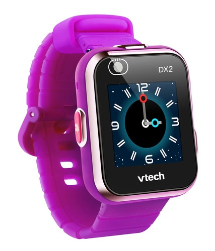 שעון חכם עם מסך מגע ושתי מצלמות קידיזום Kidizoom Dx2 - סגול