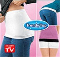 סיפור כיסוי! מארז TRENDY TOP לכיסוי הבטן והמותניים, אלסטי ונמתח על גופך, קונים 3 והרביעי במתנה