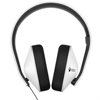 אוזניות גיימינג לבנות Xbox One White Stereo Wired Headset Microsoft