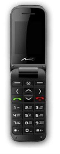 שומעים ורואים! טלפון סלולרי למבוגרים MIO בעיצוב צדפה עם כפתורים גדולים ורמקול מוגבר, רק ב-₪359!