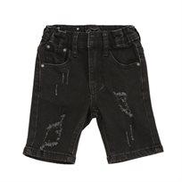 ORO ג'ינס(12 חודשים -16 שנים) - ברמודה פאטצ' שחור ללא קיפול