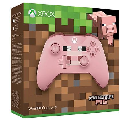בקר אלחוטי מהדורת מיינקראפט Minecraft Pig לקונסולת XBOX - תמונה 7