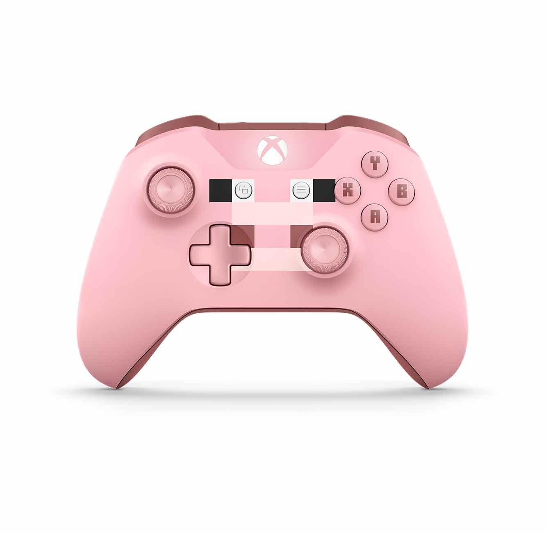 שלט Xbox אלחוטי מהדורת מיינקראפט Minecraft Pig