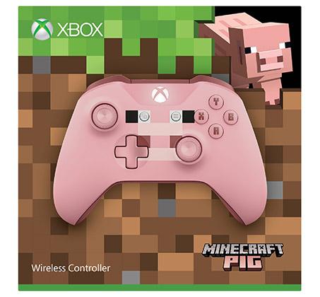 בקר אלחוטי מהדורת מיינקראפט Minecraft Pig לקונסולת XBOX - תמונה 6