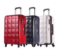 """מזוודה קשיחה ECHOLAC דגם SQUARE """"20 במגוון צבעים לבחירה"""