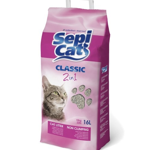 חול חצץ ריחני ואנטיבקטריאלי Sepicat ספיקט לחתול 10 ק''ג