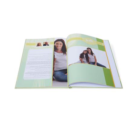 כל ההיסטוריה המשפחתית באלבום אחד - אלבום שורשים A4 אנכי כריכה קשה, 32 עמודים - תמונה 7