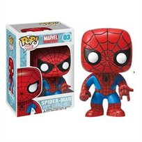Funko Pop - Spider-Man (Marvel Bubble Head) 03 בובת פופ