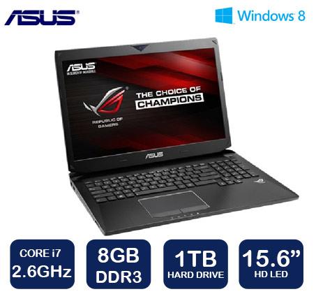 """מחשב נייד עם מסך """"15.6 FHD מבית ASUS דגם G551JW-CN182H"""