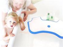 Baby Dam מקטין אמבטיה שהופך אמבט ביתי לאמבט תינוק (דגם חדש Plus) - כחול