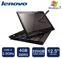 המלאי מוגבל! מחשב נייד עם מסך מגע מתהפך מבית LENOVO בעל מסך 12.5 אינץ', דיסק קשיח 320GB ומעבד i5
