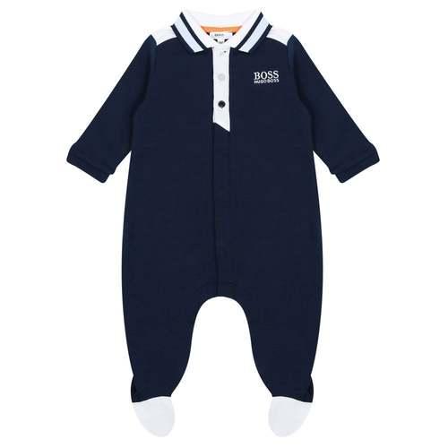 Boss בוס אוברול (1-3 חודשים) - כחול