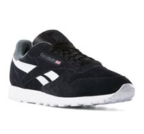 נעליים קלאסיות לגברים - שחור ואפור