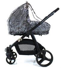 כיסוי גשם ורוח לסל שכיבה (אמבטיה) לעגלת תינוק