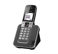 טלפון אלחוטי PANASONIC דגם KX-TGD310MBB