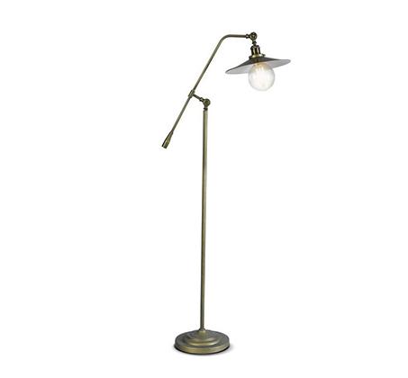 מנורה עומדת בסגנון תעשייתי מונטריאול ביתילי