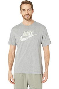 חולצת טי שירט Nike לגברים בצבע אפור בהיר